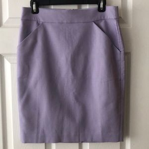 J. Crew Purple Skirt